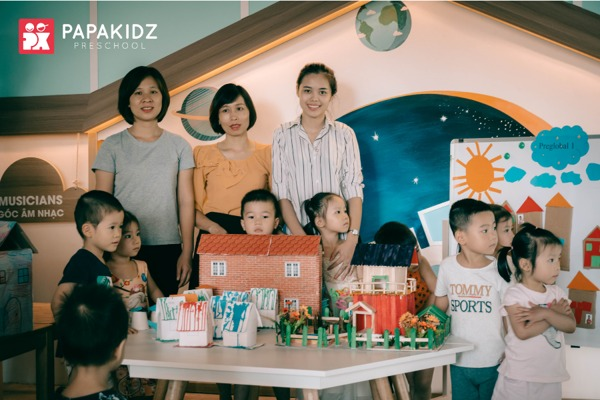 Đội ngũ giáo viên tại Papakidz
