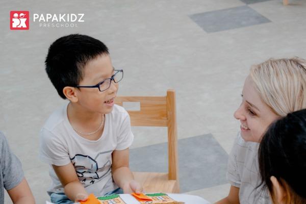 Học tập tại trường mầm non quốc tế Papakidz Preschool