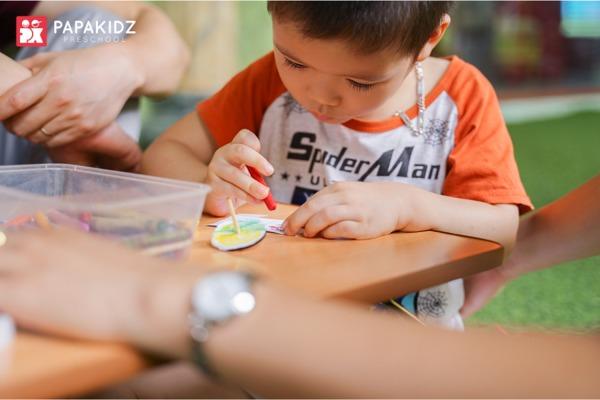Lớp học STEAM tại Papakidz Preschool