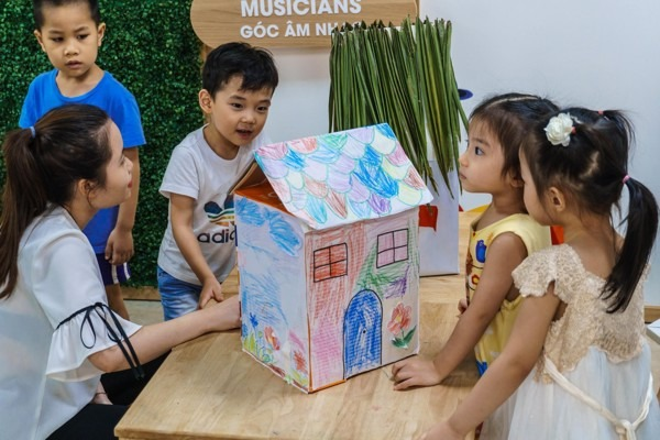 Đi tìm trường mầm non quốc tế tại Hà Nội được bố mẹ quan tâm nhất