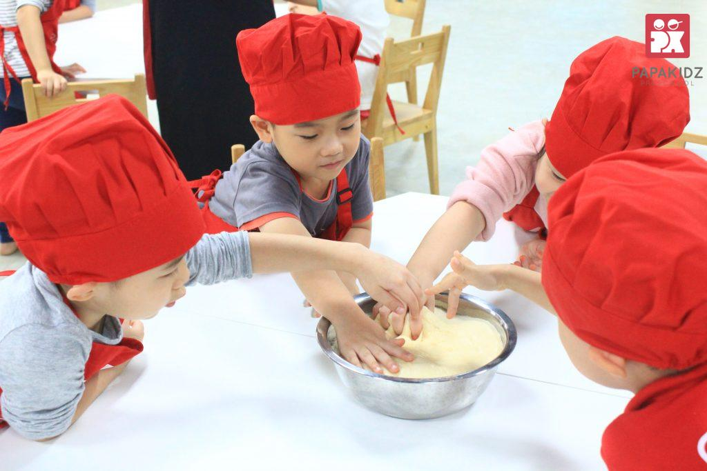 Pastry workshop in Papakidz