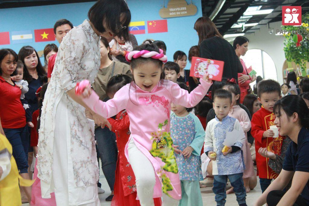 Hội chợ Xuân của bé