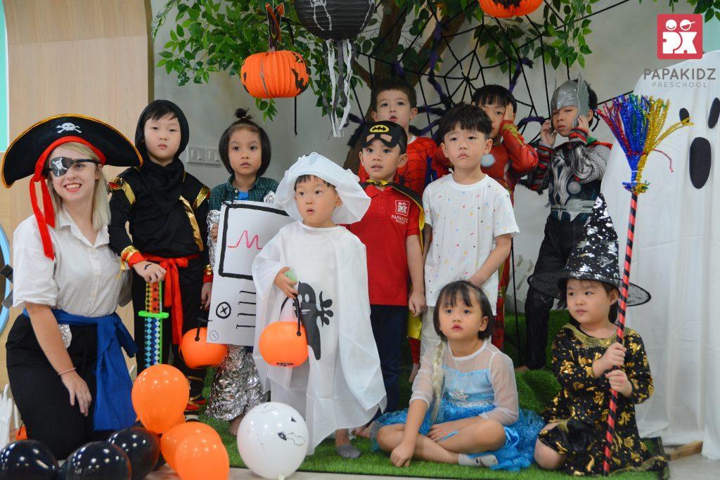 Halloween tại Papakidz