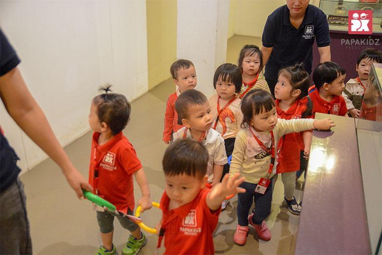 Chương trình học cho trẻ 1 tuổi đến 3 tuổi
