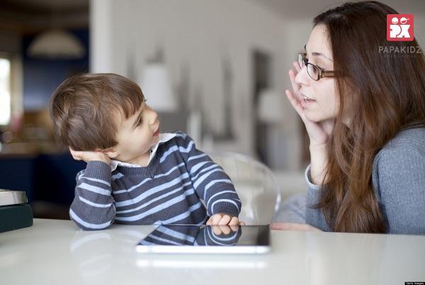 Trẻ chủ động đặt câu hỏi