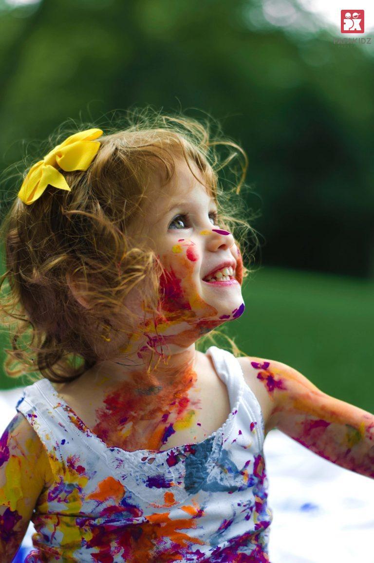 Để trẻ được sáng tạo